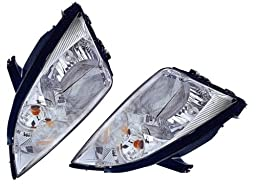 Ford Focus Replacement Headlight Assembly (non-HID Type) - 1-Pair