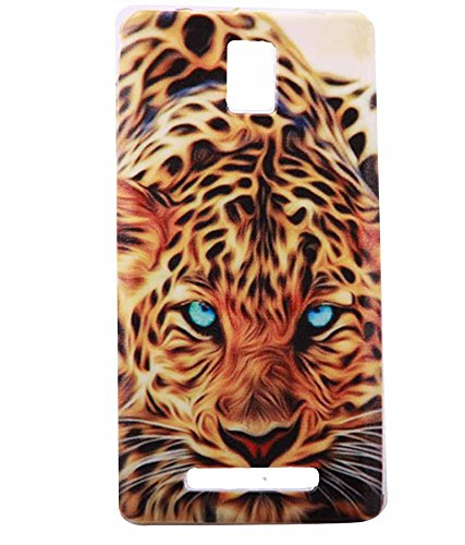 Exclusive Printed Soft Back Case Cover For Xolo Era -Tiger Print