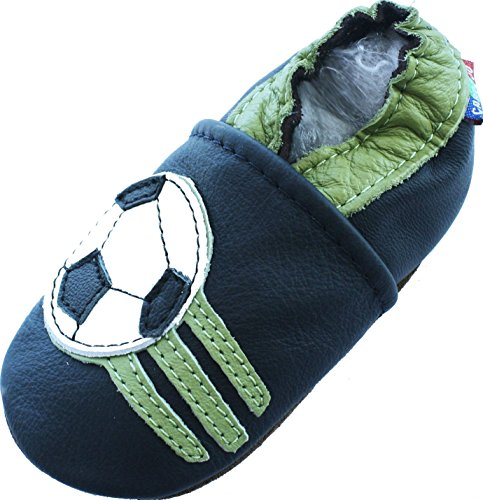Calcio Blu (Soccer Dark Blue) 6-12 M