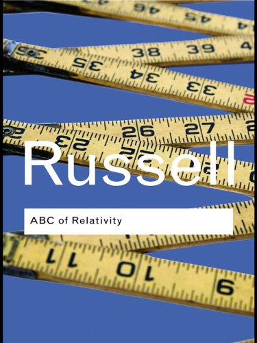 Bertrand Russell - ABC of Relativity