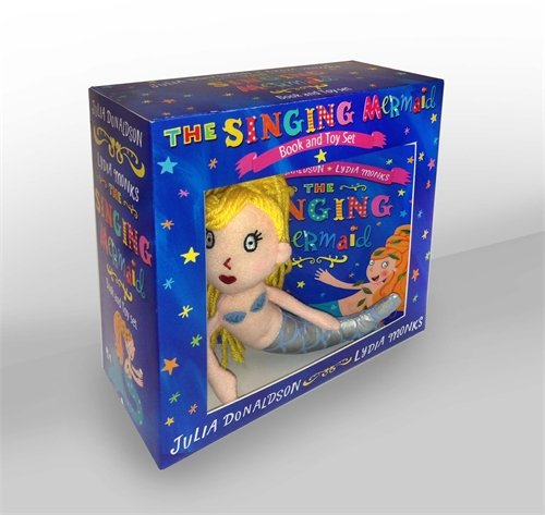 Singing Mermaid Book and Toy
