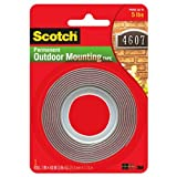 Scotch Exterior Mounting Tape, 1-Inch by 60-Inch
