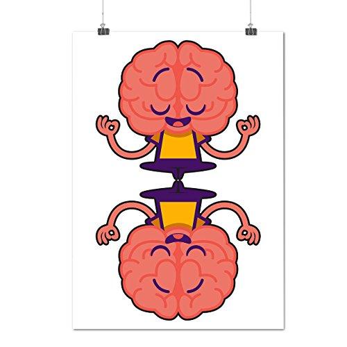 Geek Cervello Energia Brainstorm Opaco/Lucida Poster A0 (119cm x 84cm) | Wellcoda