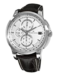Maurice Lacroix Men's PT6128-SS001130 Pontos Silver Chronograph Dial Watch