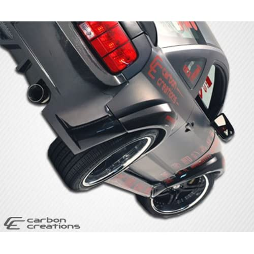 2005 2009 Ford Mustang Carbon Creations Hot Wheels Wide Body Rear Fender Flares   2 Piece