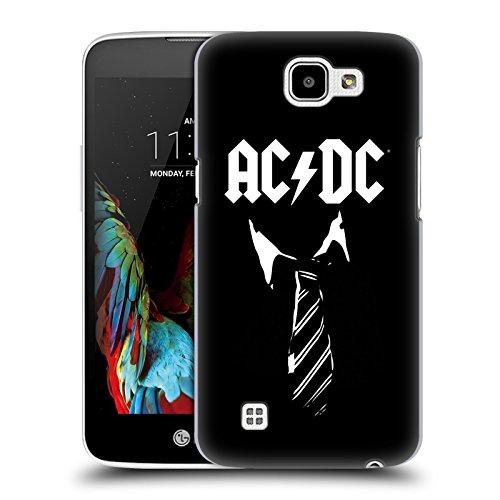 Ufficiale AC/DC ACDC Cravatta Iconico Cover Retro Rigida per LG K4