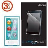 MiniGuard iPod Nano 7 High Definition Ultra Clear Screen Protector 3 Pack for iPod Nano 7th Gen / 7th Generation (Newest Model)
