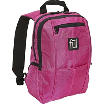 ful Unisex Adult Ditty Mini Backpack (Pink, 13 x 8.5 x 3.5-Inch)