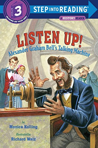 Listen Up!: Alexander Graham Bell's Talking Machine (Step into Reading) (Alexander Graham Bell For Kids compare prices)