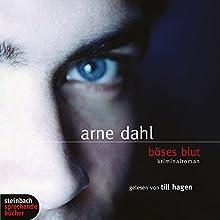 Böses Blut Hörbuch von Arne Dahl Gesprochen von: Till Hagen