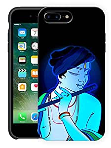 "Humor Gang Krishna Abstract - Hindu God Printed Designer Mobile Back Cover For ""Apple Iphone 7 Plus"" (3D, Matte, Premium Quality Snap On Case)"