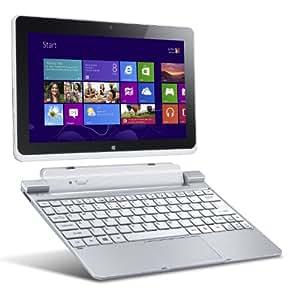 Acer Iconia W511-27602G06iss 25,7 cm (10,1 Zoll) Convertible Tablet-PC inkl Keydock (Intel Atom Z2760, 1,8GHz, 2GB RAM, 64GB eMMC, Intel 3650, 3G, Win 8) silber