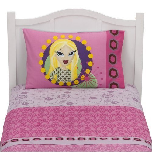 Lil Bratz Boho Girls Twin Sheet Set | bedsetsforkids.