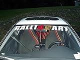 1stk Ralliart Logo Aufkleber Sticker Decal 100cm Die Cut Frontscheibe Heckscheibe Blendstreifen Mitsubishi Racing Tuning