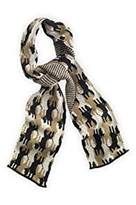 Green 3 Apparel Recycled Repeating Doggie Scarf (Tan)
