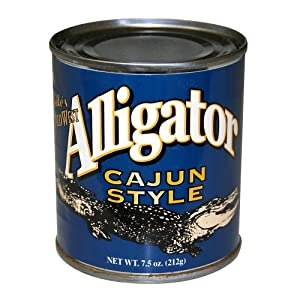 Amazon Com Cajun Alligator Exotic Gourmet Canned Wild