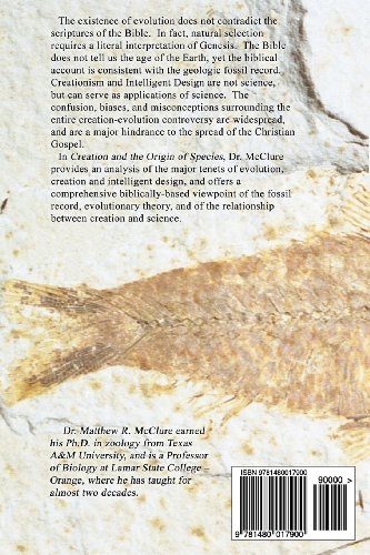 Creation and the Origin of Species: The Biblical Perspective on Evolution