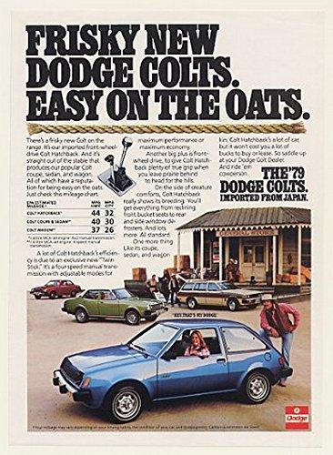 1979 Dodge Colt Hatchback Coupe Sedan Wagon Print Ad (47603)