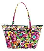 Hot Sale Vera Bradley Miller Bag in Va Va Bloom