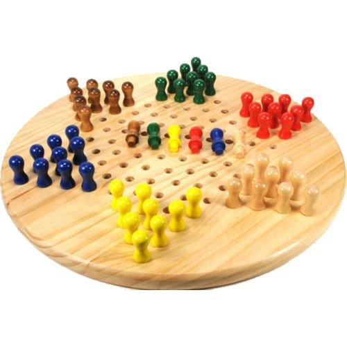 "Chinese Checkers Set, 7"""