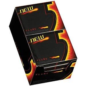 Wrigley's- 5 Flare Gum, 10/15 Piece Packs Warming Cinnamon