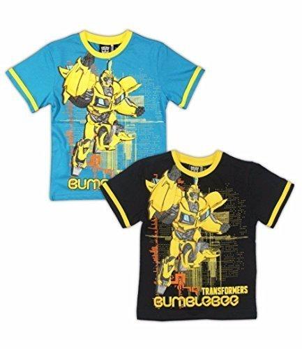 Transformers Da Ape Bambini Confezione Da Due T-Shirt 98cm, 2-3 anni - Blu, 98cm, 2-3 anni