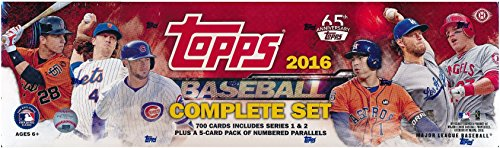 2016-Topps-MLB-Baseball-HUGE-705-Card-Factory-Sealed-HOBBY-Factory-Set-with-5-EXCLUSIVE-PARALLEL-Cards-Plus-Bonus-Wowzzer-Mystery-Pack-with-AUTOGRAPH-or-MEMORABILIA-Card-Includes-all-Card-Series-12