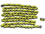Spezialverstärkte Fahrrad Kette (gelb)