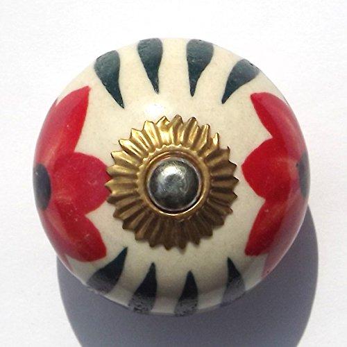 para-acabados-metalicos-en-blanco-redondo-con-poppy-y-verde-de-laton-de-ceramica-pomo-para-puerta-de