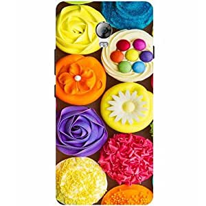 Casotec Cream Roses Design Hard Back Case Cover for Lenovo Vibe P1
