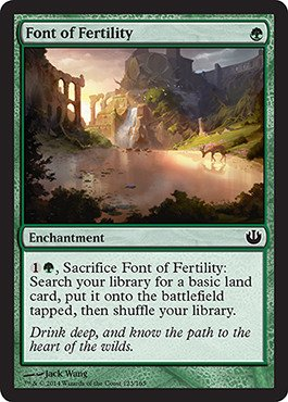 Magic: the Gathering - Font of Fertility (125/165) - Journey into Nyx - Foil - 1