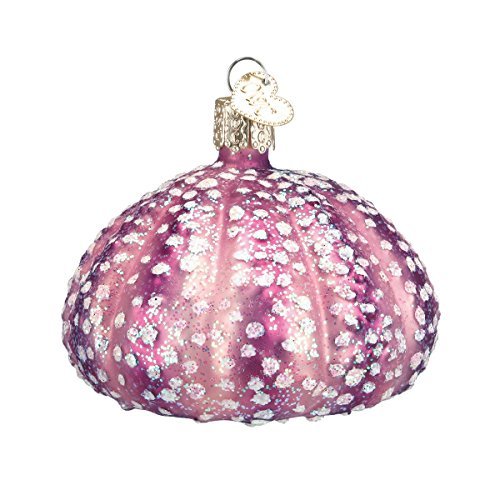 Old World Christmas Sea Urchin Glass Blown Ornament