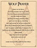 Wolf Prayer Poster 8 1/2 x 11