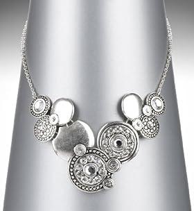 Per Una Sparkling Swirl Necklace