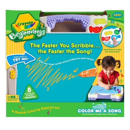 Crayola Beginnings Color Me A Song - 1