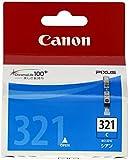 Canon キヤノン 純正 インクカートリッジ BCI-321 シアン BCI-321C