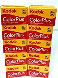 10 Rolls Of Kodak colorplus 200 asa 36 exposure by Kodak [並行輸入品]