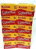 10 Rolls Of Kodak colorplus 200 asa 36 exposure by Kodak [並行輸入品]