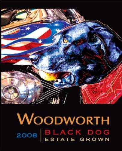"2008 Woodworth Vineyards ""Black Dog"" Red 750 Ml"