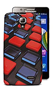 ECellStreet Exclusive Printed Soft Back Case Cover Back Cover For Lenovo A536 - Buttons