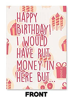 Rihanna Bitch Better Have My Money Birthday Card (PLAYS ACTUAL SONG)