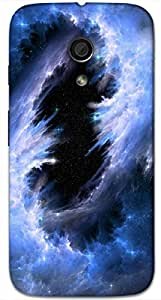 Timpax protective Armor Hard Bumper Back Case Cover. Multicolor printed on 3 Dimensional case with latest & finest graphic design art. Compatible with Motorola Moto -G-2 (2nd Gen )Design No : TDZ-25007
