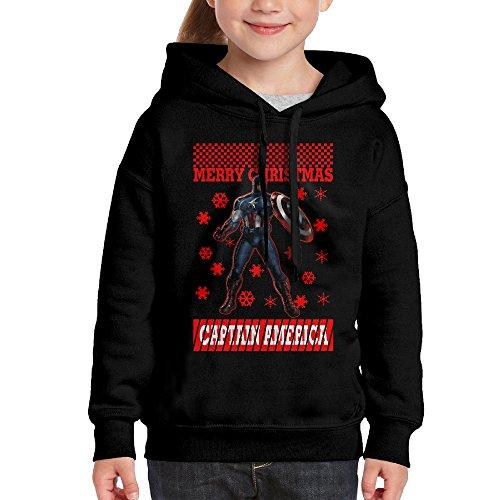 Christmas Captain America Hoodies