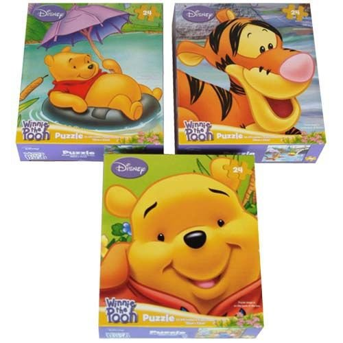 Winnie the Pooh Puzzles - 24 Pieces (Each) 888919- Party Supplies - 1