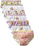 Disney Little Girls' Tangled Seven-Pack Underwear