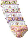Disney Girls 2-6X 7 Pack Tangled Underwear