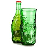 Lucky Buddha Beer Bottle Glass 11.6oz / 330ml Recycled Beer Bottle Glass