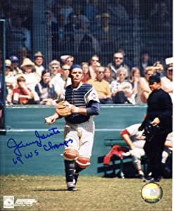 Jerry Grote (1969 NY Mets) Autographed/ Original Signed 8x10 Color