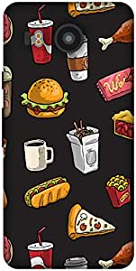 The Racoon Lean Fast Food hard plastic printed back case / cover for LG Nexus 5X
