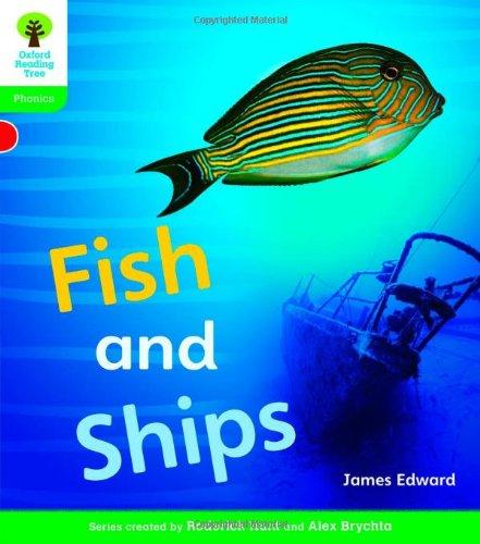 Oxford Reading Tree: Level 2: Floppy's Phonics Non-Fiction: Fish and Ships (Floppy Phonics)